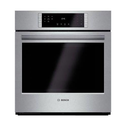 Bosch HBN8451UC 800 27″ Stainless Steel Electric Single Wall Oven – Convection