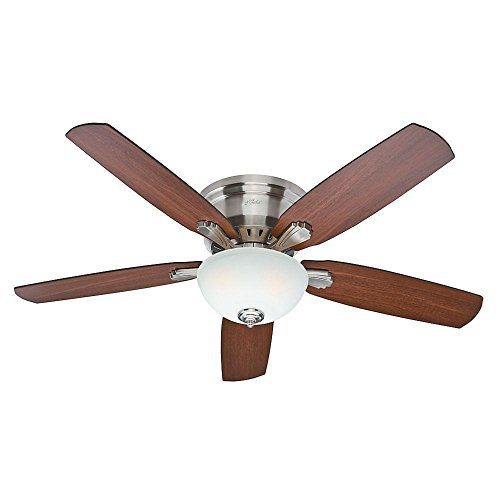 Hunter Princeton 52 In. Indoor Brushed Nickel Ceiling Fan
