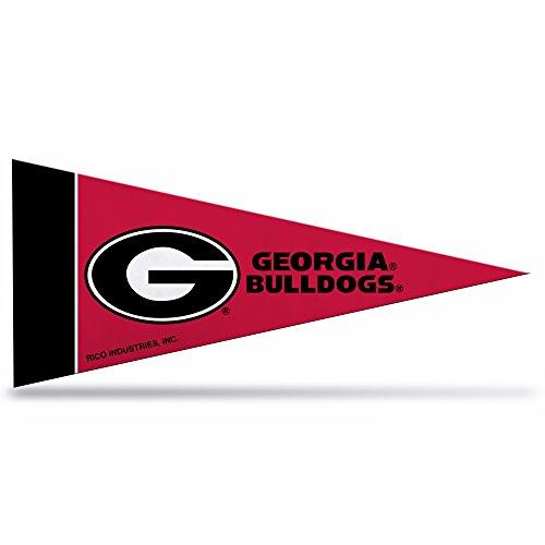 Rico Industries NCAA Georgia Bulldogs 4-Inch by 9-Inch Classic Mini Pennant Décor