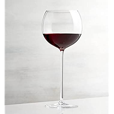 23oz Red Wine glass with elongated slender stem - The Olivia Collection