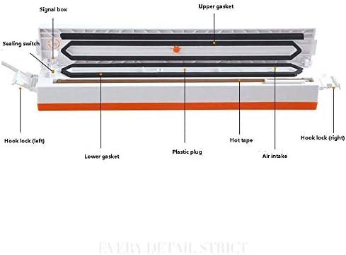 Passez l'aspirateur Sealer Sacs Food Saver, vide Scelleur, vide Scellant machine, l'alimentation automatique du système Scellant étanchéité à l'air for l'alimentation JIAJIAFUDR