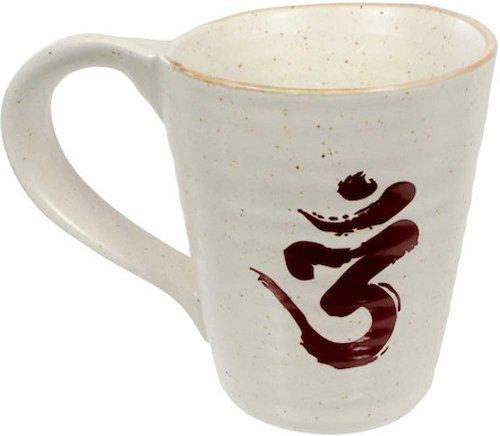 Ceramic Coffee Tea Mug Cup - Om Symbol Ceramic Coffee Tea Mug Cup Yoga Gift Boxed
