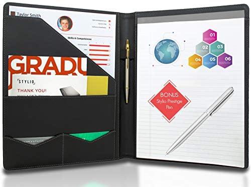 STYLIO Padfolio Premium Pen Letter Sized
