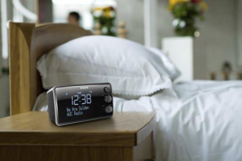 negro Radiodespertador Philips AJB3552//12 1.5 W, pantalla LCD