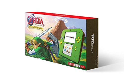 Nintendo 2DS with the Legend of Zelda Ocarina of Time 3D (Link Edition) by Nintendo