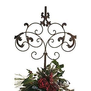 Spencerian Wreath Hanger 89