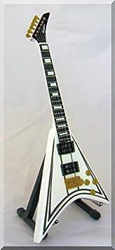Randy Rhodes miniatura guitarra Jackson Guns N Roses: Amazon.es: Instrumentos musicales