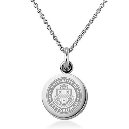 M. LA HART Pitt Necklace with Charm in Sterling Silver