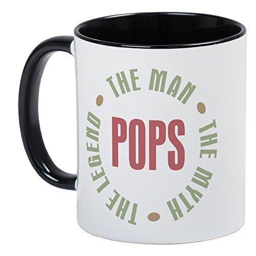 CafePress Pops Man Myth Legend Mug Unique Coffee Mug, Coffee Cup