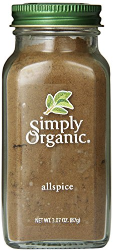Simply Organic Allspice, 3.07 Ounce (Ground Spices)