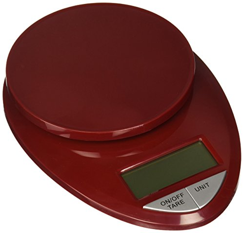 Eatsmart precision pro digital kitchen scale red import for Kitchen pro smart scale