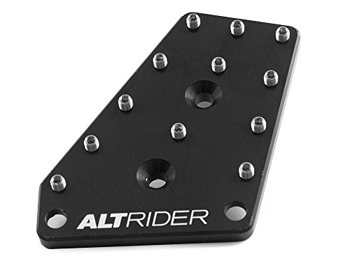AltRider R113-2-2501 DualControl Brake Enlarger for the BMW R 1200 GS Water Cooled - Black
