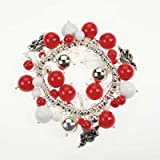 Arkansas Razorbacks - NCAA Bauble Logo Stretch Bracelet