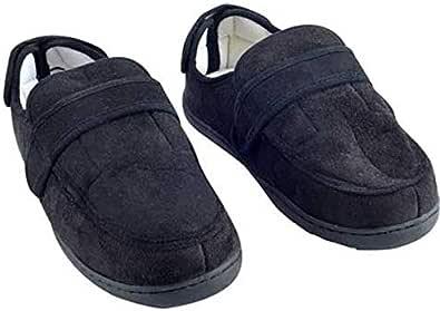 حذاء ميموري فوم قابل للتعديل مقاس متوسط - أسود