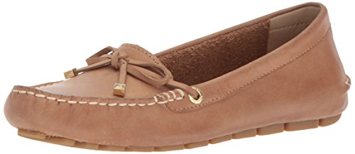 Sperry Women's Katherine Leather Driving Style Loafer tan 10 Medium US