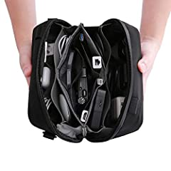 Has your bag pocket become overrun by cables?Do you want to take back that lost space?Then you need to check out the MIZATTO Travel Universal Cable Organizer Electronics Accessories Bags.Yes,it is a mouth full,but it is what it can do ...