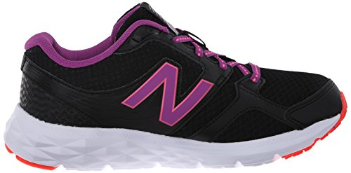New Balance Womens W490v3 Scarpa Da Corsa Nero / Viola