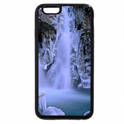 iPhone 6S Case, iPhone 6 Case (Black & White) - Bash Bish Falls