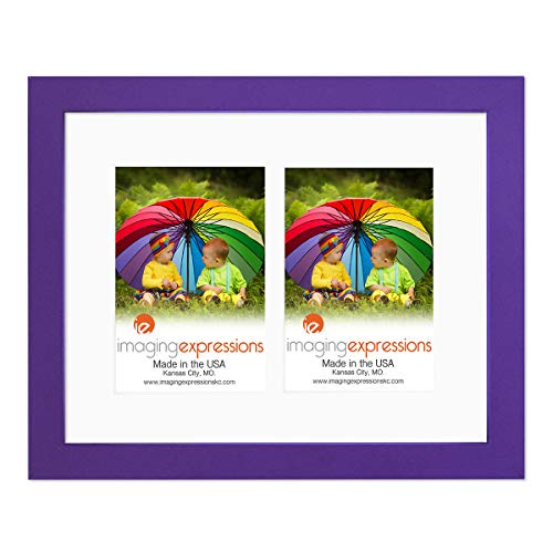 Imaging Expressions Purple Picture Frame 11x14 - Use