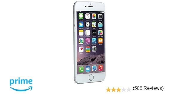 d85401035c2 Apple iPhone 6 Plata 64GB Smartphone Libre (Reacondicionado): Amazon.es:  Electrónica