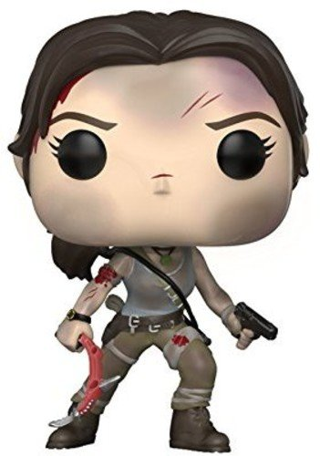Funko POP! Games: Tomb Raider Lara Croft Collectible Figure, Multicolor