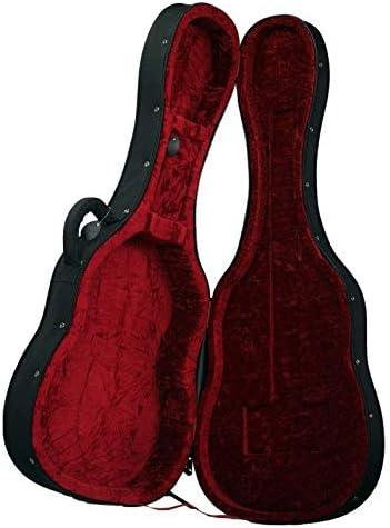 Estuche Guitarra Clásica CIBELES, Foam, (Negro - Forro Rojo): Amazon.es: Instrumentos musicales