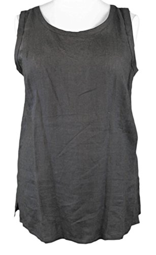marina-rinaldi-by-maxmara-spuma-black-sleevless-tunic-top-14w-23