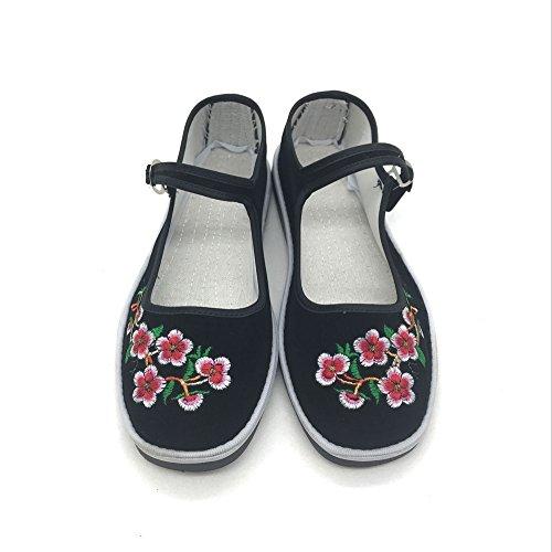 Beyond@ Women Handmade Embroidered Ballet Flats Shoes One J7xSTSEx
