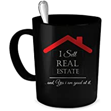 Real Estate Agent Coffee Mug. Real Estate Agent gift