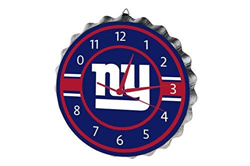 NFL New York Giantsbottlecap Clock, New York Giants, One (Giants Clock)
