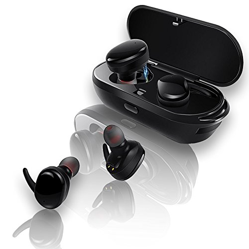 Wireless Bluetooth Earbuds Headphones - Best Noise Cancelling Athletic  Earbuds for Running, Workout Earphones & Sports Head Phones, Sweatproof,