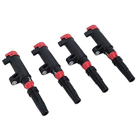Newgreeny - Lote de 4 bobinas de Repuesto para Coche Clio Megane Grand Scenic