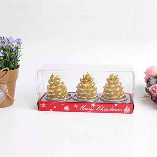 Santa Candle Christmas Candles Handmade Decorative Tealight Christmas Decorations for Homesanta Claus/Snowman Christmas Tree Ornaments