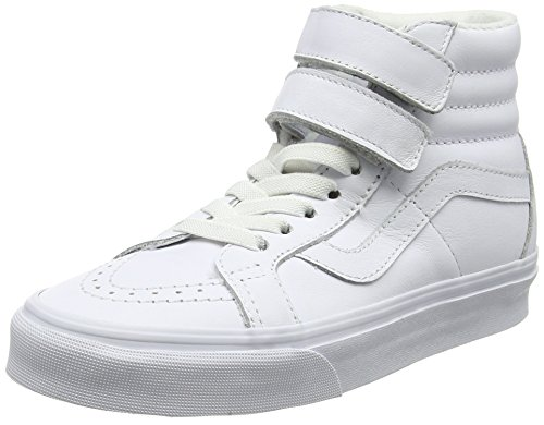 Adults' White V White Reissue Unisex Trainers Hi Sk8 mono Vans Leather true wq5Up