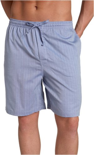 Nautica Men's Captains Herringbone Woven Sleep Short