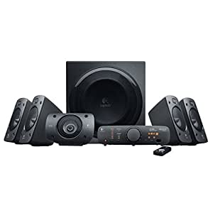 Logitech Z906 5.1 THX y Dolby Digital - Equipo de Home Cinema, negro