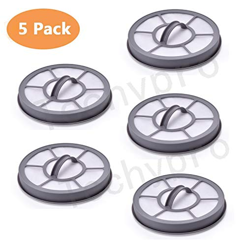 Techypro 5 Pack Exhaust Vacuum Filter Compatible with Eureka Airspeed EF-7 Models AS3001A, AS3008A, AS3011A, AS3030A.Replaces Part 091541