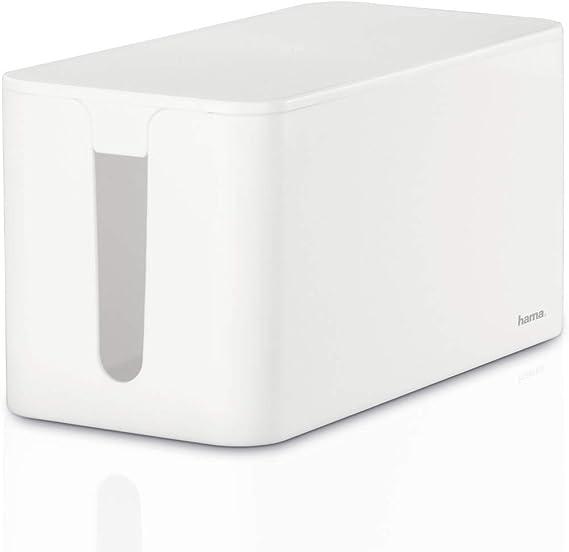 Hama 020661 Caja para cables, Blanco, Estandar: Amazon.es: Electrónica