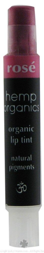 Colorganics Hemp Organics Rose Lip Tint 2.5 Gram Stick