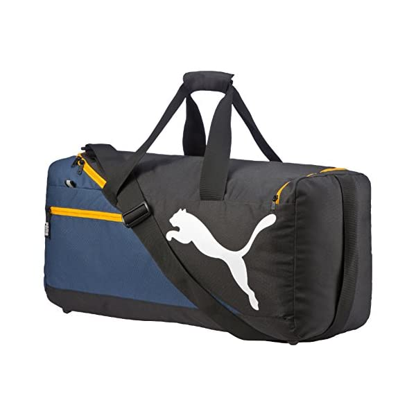 fb0b2e08e0aa Puma Fundamentals Sports Bag M Borsa – Blu (Blu) – Taglia Unica ...