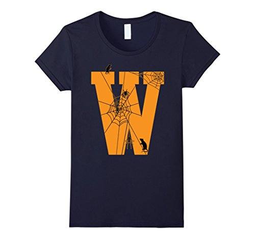 Letter Costumes Halloween W (Womens Letter W Halloween Costume Group Shirts Tees XL)