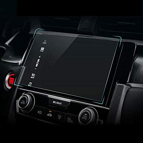 XHULIWQ 車のGPSナビゲーションシステム強化ガラススクリーンプロテクターフィルム、ホンダシビック2016-2017