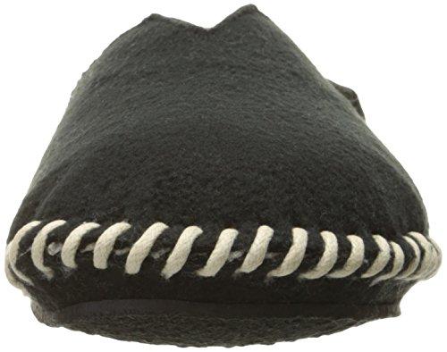 Mill Slipper Scuff Men's Black Woolrich Fleece EWnq8UwPx
