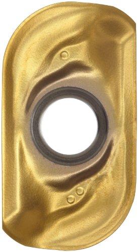 Sandvik Coromant COROMILL Carbide Milling Insert, R390 Style, Rectangular, GC2030 Grade, TiAlN Coating, R39011T331EML,0.141