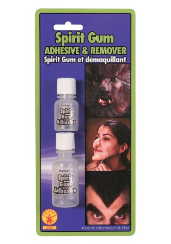 [Rubie's Costume Spirit Gum and Remover, Transparent, One Size] (Nose Putty)