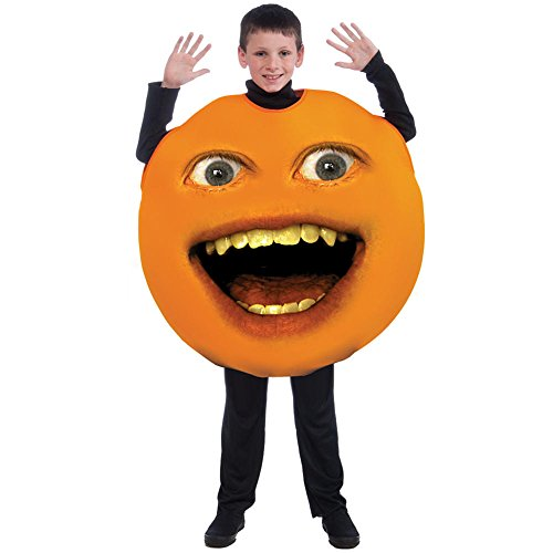 [Annoying Orange Child Poncho Costume 8-12 NIP] (Annoying Orange Kids Costumes)