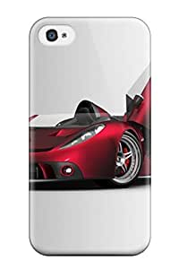 Zheng caseIphone 4/4s Case Cover - Slim Fit Tpu Protector Shock Absorbent Case (vehicles Car)