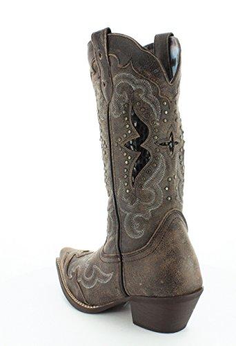 Black Western Western Tan Womens Womens Laredo Lucretia Black Lucretia Laredo Boot Tan Boot Laredo EpqvSFp