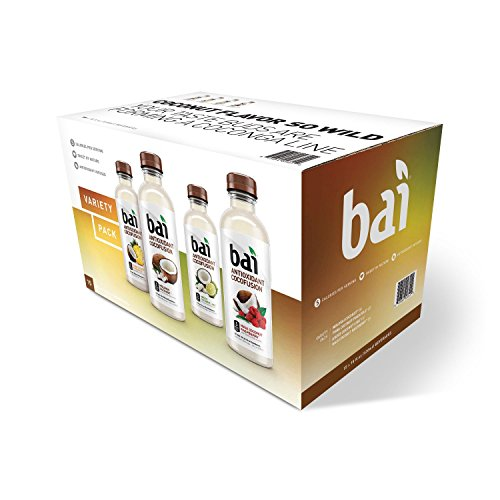 Bai Cocofusion Variety Pack bottles product image