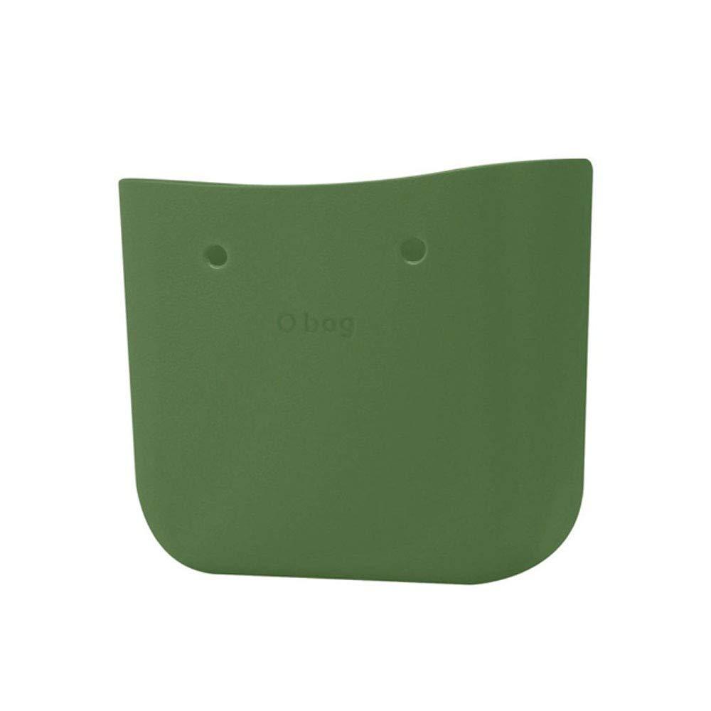 obag Cuerpo bolso de la marca mini capazo liso color verde ingles
